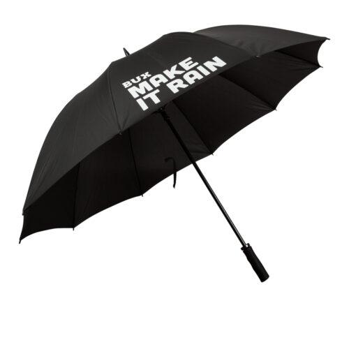 BUX-paraplu-uitgeklapt