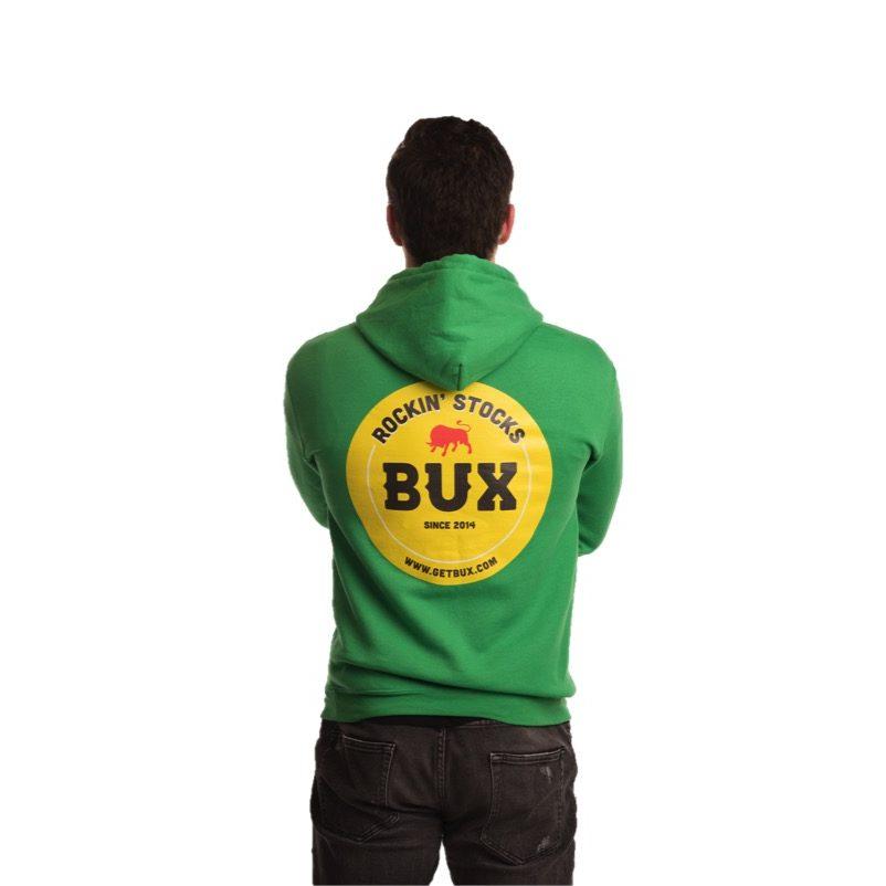 BUX-hoodie-groen-achterkant