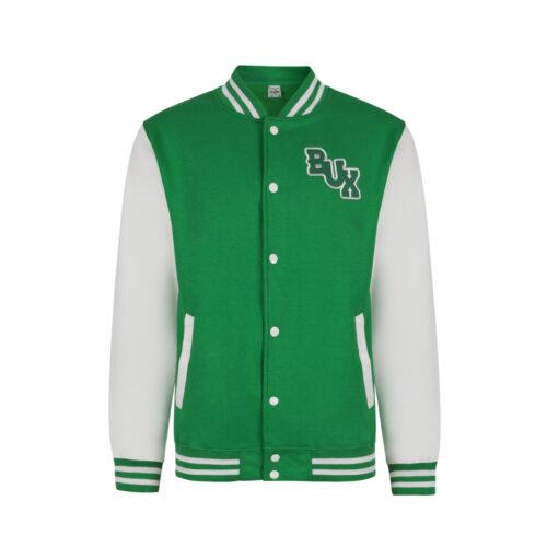 BUX-baseballjack-groen-voorkant